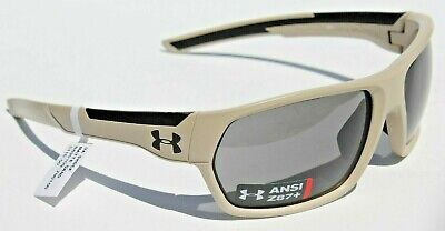 UNDER ARMOUR Shock Sunglasses Matte Sand Brown/Gray NEW Sport (Shock Sunglasses)