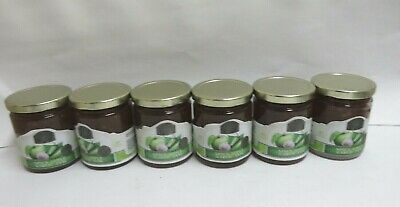 Earth & Vine All Natural Spicy Apple Garlic Jam (6) 10.5 oz. Jars Cooking/Gifts