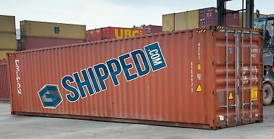 Used 40 Ft High Cube Shipping Containers Home Business Storage Las Vegas Nevada