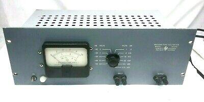 HEWLETT-PACKARD HP 400AB AC VOLTMETER VTVM VACUUM TUBE VOLTMETER