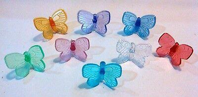 Medium Butterflies 36 Bulbs Ceramic Christmas Tree Lights Replace.  8 Colors   Ceramic Christmas Tree Plastic Lights