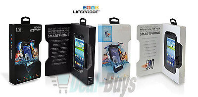 New Authentic LifeProof Nuud or Fre Waterproof Phone Case For Samsung Galaxy