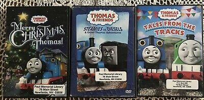 Thomas & Friends - Merry Christmas, Steamies vs. Diesels, Tales from the tracks