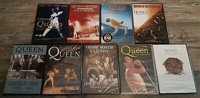 Queen Documentary & Live DVD Collection - Freddie Mercury - lot - Some Sealed