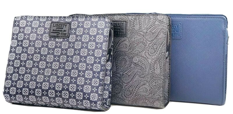 (3) British Airways Liberty London First Class Empty Airline Travel Amenity Kits