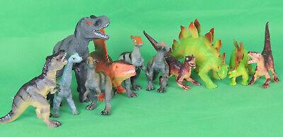 Dinosaurier Dino Set Plastik Dinosaurier Spielfiguren Neu &OVP 11-24cm groß  ()