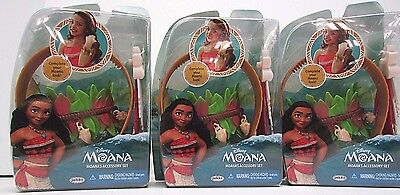3 Disney Moana Princess Accessory Set Headband & Bracelet Pretend Dress Up NEW](Halloween Disney Princess Dress Up Games)