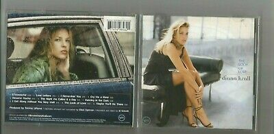 The Look of Love by Diana Krall (CD, Oct-2002, Universal