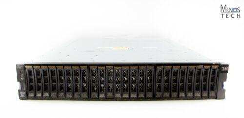 IBM Storwize V7000 Gen2 24x caddy 10k Dual Nodes 2x PSU  Includes Rails No HDD