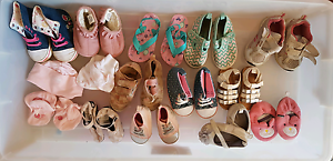 Baby / toddler girl shoes - From newborn to size 5 Warnbro Rockingham Area Preview