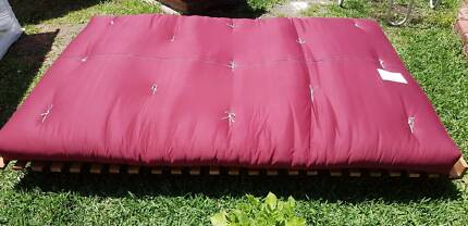 Futon Bed & Base folds up to 2 Seater Sofa
