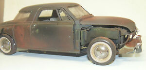 1/18 1951 Studebaker, barn find, rat rod, junker, unrestored, parts car, project