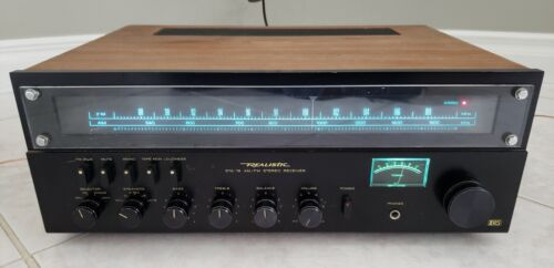 Realistic STA-78 Stereo Receiver - Restored - Recapped - LED