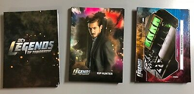 Legends of Tomorrow 3 Chase Insert Card Sets Characters Icons Legendary Objects