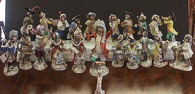 Meissen Porcelain Full Monkey Band 21pc.