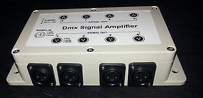 8 way DMX splitter amplifier UK stock