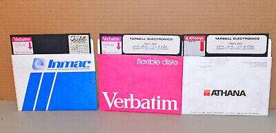 """3 - Tarbell Electronics 8"""" Disks - (2) Basic v15.5; & 24K CP/M v1.4"""