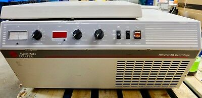 Beckman Coulter Benchtop Centrifuge 120v Allegra 6r Refrigerated Wswing Buckets