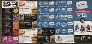 Snow Valley coupon folders