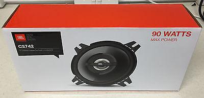 JBL 90W 2-WAY 4 INCH 10cm CAR/VAN DOOR/SHELF COAXIAL SPEAKERS BLACK NEW PAIR