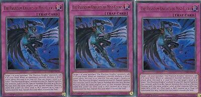 YUGIOH 3 X THE PHANTOM KNIGHTS OF MIST CLAWS  LEHD-ENC30 - ULTRA 1ST EDITION