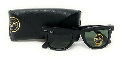 Ray-Ban Wayfarer Sunglasses RB2140 901 Black 50mm/G-15 Green Lens