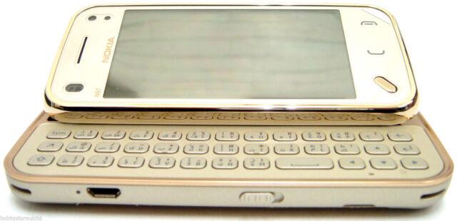 Nokia N97 Mini - 8GB - Gold (Unlocked) Smartphone  18 KARAT GOLD PLATED