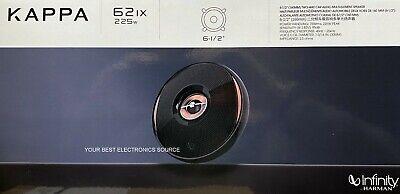 "NEW Infinity KAPPA-62ix 6.5"" 2-Way Car Audio Speakers 6-1/2"" (ONE PAIR)"