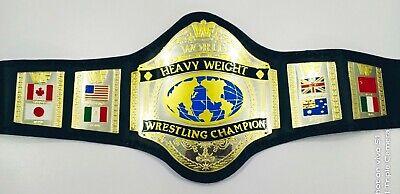 WWF Hogan 1986 Heavywieght Wrestling Championship Adult Size Belt WWE NWO WCW
