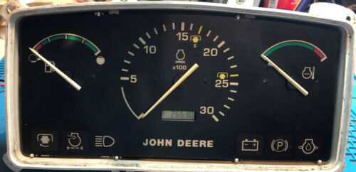 JOHN DEERE 5320/5420/5520 INSTRUMENT CLUSTER DISPLAY AND ONE GAUGE ONLY  REPAIR