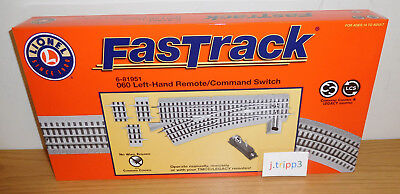 LIONEL FASTRACK 6-81951 REMOTE 0-60 O60 LEFT HAND COMMAND SWITCH TRACK O GAUGE for sale  Shipping to Canada
