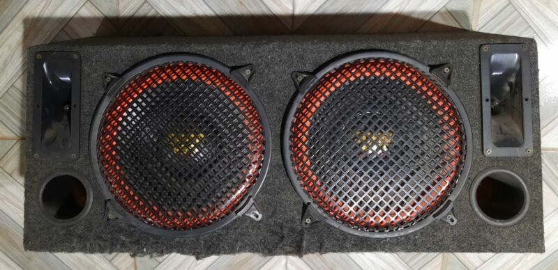 """OLD SCHOOL SUPER PRO 12"""" SPEAKERS WITH BOX"""