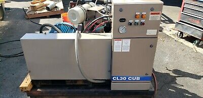 Leroi Model Cl30cub Screw Air Compressor In Xlnt Condition 27k Hours 125 Cfm