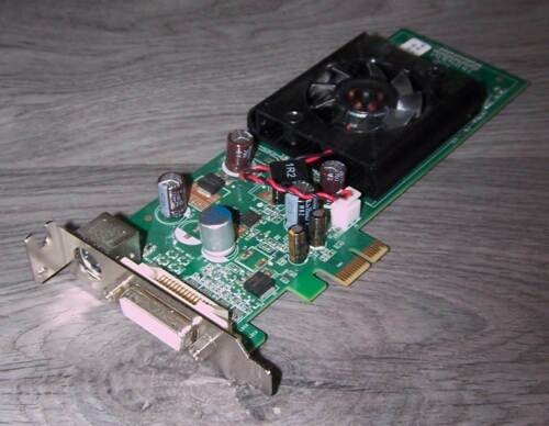 HP nVidia GeForce 8400 GS 256MB PCIe x1 LP Grafikkarte DMS59 DMS-59 TV-Out