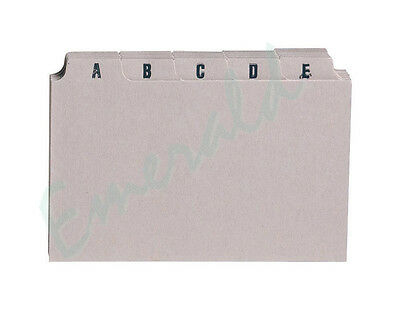 "A-Z Index Record Guide Cards Size 5"" x 3"" 127 x 76 Same Day Dispatch"