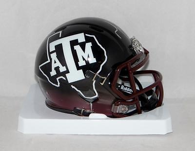 Martellus Bennett Autographed Texas A M Speed Hydro Mini Helmet  Jsa W Auth