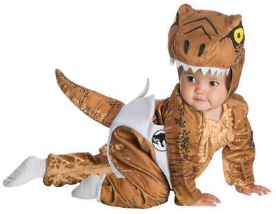 CUTE JURASSIC PARK WORLD INFANT T REX DINOSAUR HATCHING COSTUME 6-12 MOS RU51056 - Jurassic Park Dinosaur Costume