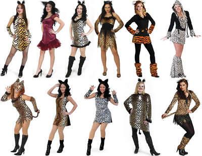 Katze Leopard Tiger Karneval Fasching Kostüm - Faschingkostüm Katze Kostüm