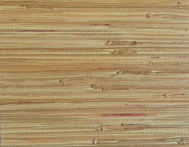 Beige/Tan Grasscloth 100% Authentic Natural Woven Wallpaper Brown 72 SQ FT Rolls