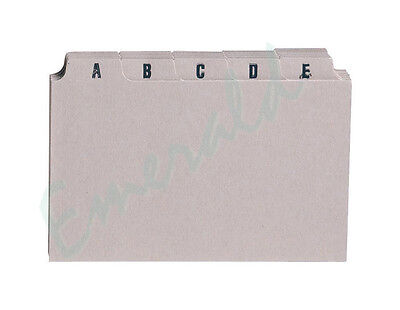 "A-Z Index Record Guide Cards Size 6"" x 4"" 152 x 102 Same Day Dispatch"