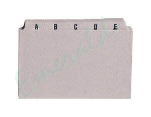 A-Z-Index-Record-Guide-Cards-Size-6-x-4-152-x-102-Same-Day-Dispatch