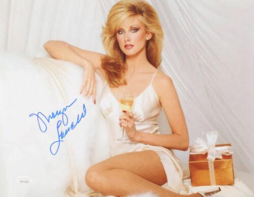 Morgan Fairchild Signed 11x14 Photo with JSA COA