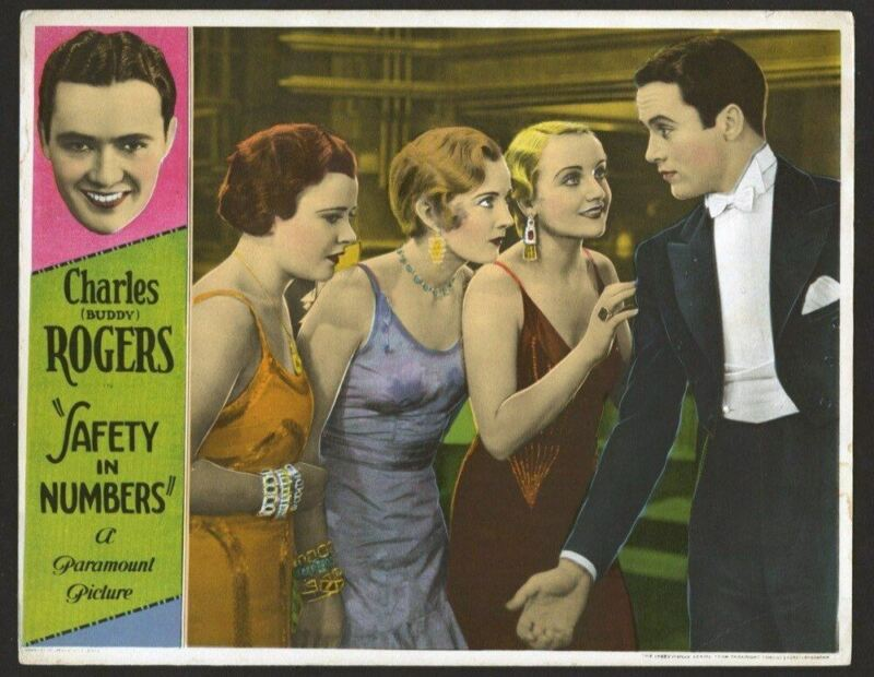 SAFETY IN NUMBERS (1930) 19744  CHARLES BUDDY ROGERS   CAROLE LOMBARD