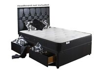 a small double bed