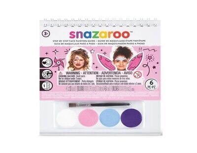 SNAZAROO CHILDRENS GIRLS FACE PAINT KIT - PRINCESS FAIRY FLOWER BIRTHDAY PARTY ](Princess Face Painting)