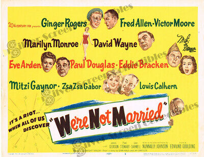 We're Not Married! (1952) - Original U.S. Lobby Card - SIGNED (11