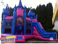 Inflatable Birthday Party Rentals & Events! Water Slides & More!