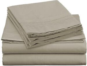 egyptian cotton sheets queen deep pocket ebay. Black Bedroom Furniture Sets. Home Design Ideas