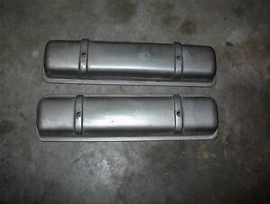NICE USED PAIR OF 1956-57-58 OLDS ROCKET V8 VALVE COVERS $80.00