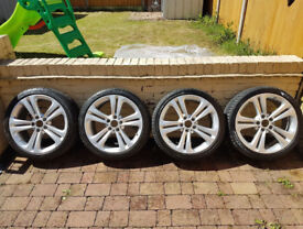 "wanted bmw e90 91 92 93 19"" alloys with tyres must be pefect"